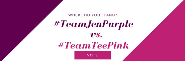 TeamPurple vs. TeamPink Header