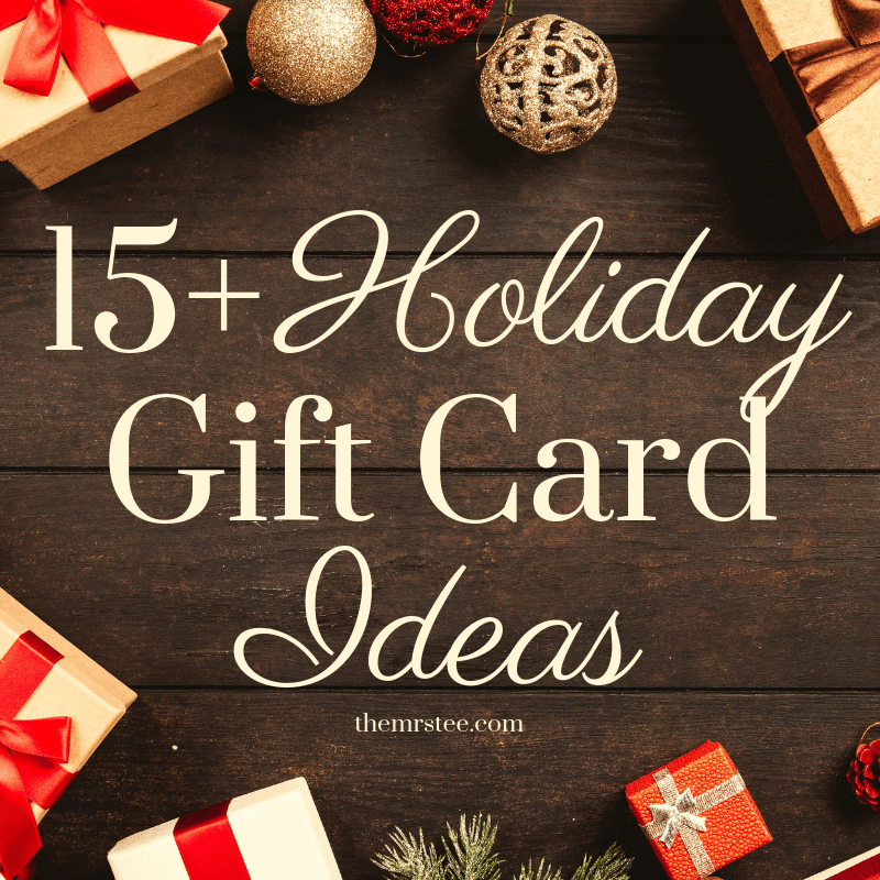 Christmas Gift Card Ideas.15 Holiday Gift Card Ideas Themrstee Lifestyle Blogger